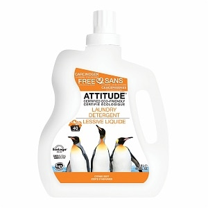 Attitude Laundry Detergent, 40 Loads, Ylang-Ylang &Tangerine&nbsp;