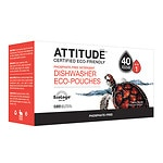 Attitude Automatic Dishwasher Detergent, EcoPouches, 40 Loads