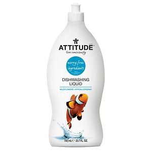Attitude Dishwashing Liquid, Wildflower- 23.7 fl oz