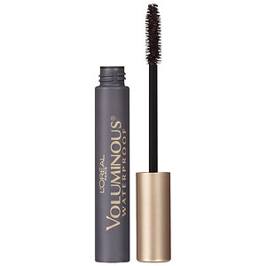 L'Oreal Paris Voluminous Waterproof Volume Building Mascara, Black Brown