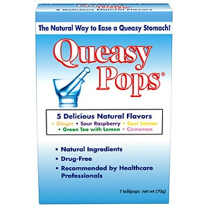 Queasy Pops Lollipops- 7 ea