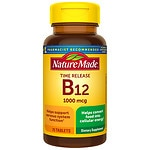 Nature Made Vitamin B-12, 1000mcg, Timed Release, Tablets- 75 ea