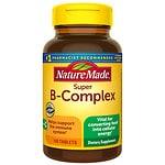 Nature Made Super B-Complex, Tablets- 140 ea