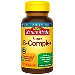 Nature Made Super B-Complex, Tablets- 60 ea