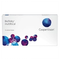 Biofinity Multifocal Contact Lens- 6 lenses per box