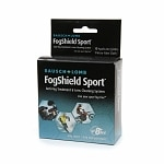 Bausch + Lomb FogShield Sport Anti-Fog Treatment & Lens Cleaning System, 10 Applicator Cloths & 1 Micro-Fiber