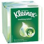Kleenex Lotion Facial Tissue with Aloe & Vitamin E- 75 ea