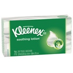 Kleenex Lotion Facial Tissue with  Aloe & Vitamin E, White