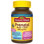 Nature Made Prenatal Multi + DHA, Liquid Softgels- 60 ea