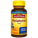 Nature Made Melatonin, 5mg, Tablets