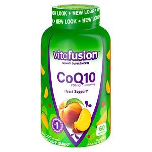 Vitafusion CoQ10 200mg Gummy Vitamins,, Pleasant Peach- 60 ea