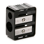 Black Radiance Dual Pencil Sharpener- 1 ea