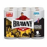 Brawny Paper Towels, Pick a Size, White