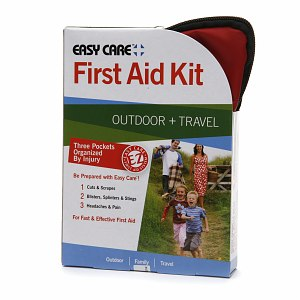 Easy Care Outdoor + Travel First Aid Kit- 1 ea