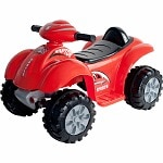 Lil' Rider Battery Powered Raptor 4 Wheeler Ages 2-4, Red
