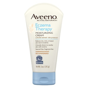 Aveeno Active Naturals Eczema Therapy Moisturizing Cream- 5 oz