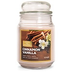 Patriot Candles Jar Candle 18oz, Cinnamon Vanilla