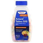 Walgreens Antacid/Calcium Supplement Tablets Regular Strength, Assorted- 150 ea