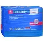 Walgreens Certainty Women's Underwear, Super Plus Absorbency, Small/Medium