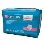 Walgreens Certainty Women's Underwear, Moderate Absorbency, Small/Medium, 20 ea
