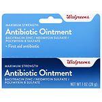 Walgreens Antibiotic Ointment Maximum Strength