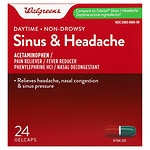 Walgreens Sinus Congestion & Pain Reliever Gelcaps- 24 ea