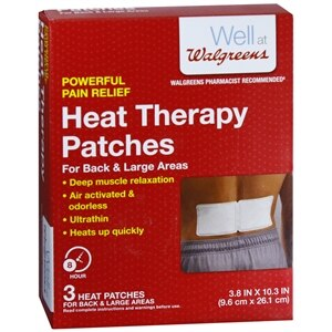 Walgreens Heat Therapy Patches, Back- 3 ea