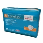 Walgreens Certainty Adjustable Underwear, Maximum Absorbency, Large- 16 ea