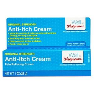 Walgreens Feminine Anti-Itch Pain Relieving Cream