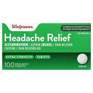 Walgreens Headache Relief, Extra Strength Tablets