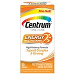 Centrum Specialist Complete Multivitamin: Energy, Tablets- 60 ea