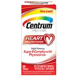 Centrum Specialist Complete Multivitamin: Heart, Tablets- 60 ea