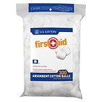 First Aid Cotton Balls