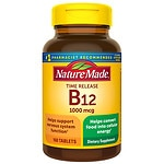 Nature Made Vitamin B-12 1000 mcg Timed Release Value Size, Tablets