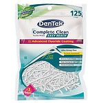 DenTek Complete Clean Floss Picks Ultra Strong Shred Proof Floss,