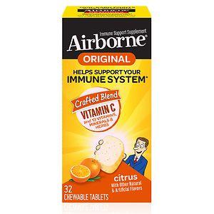 Airborne Chewable Tablets, Citrus