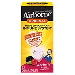 Airborne Chewable Tablets, Berry