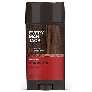 Every Man Jack Deodorant, Cedarwood- 3 oz