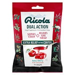 Ricola Dual Action Cough Suppressant Drops, Cherry