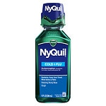 Vicks Nyquil Cold & Flu Relief Liquid, Original Flavor
