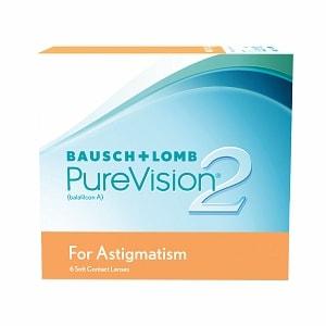PureVision2 For Astigmatism Contact Lens-6 lenses per Box