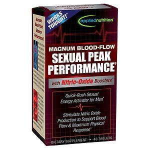 Applied Nutrition Magnum Blood-Flow Sexual Peak Performance, Tablets- 40 ea