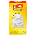 Glad Tall Kitchen Drawstring Trash Bags, 13 Gallon