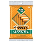 BIC Single Blade Sensitive Disposable Shaver- 12 ea