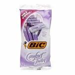 BIC Comfort Twin Sensitive for Women, Disposable Shaver- 10 ea