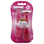 BIC Simply Soleil for Women, Disposable Shaver- 4 ea