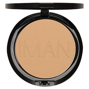IMAN Luxury Pressed Powder, Sand Light/Medium