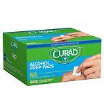 Curad Alcohol Swabs- 200 ea