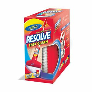 Resolve easy clean carpet cleaning system is the easy way to deep clean carpets so you don't have to get on your hands and knees to scrub. High traffic foam cleaner. Includes Resolve /5(9).