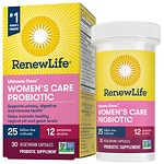 ReNew Life Ultimate Flora Women's Care Probiotic, 25 Billion, Veggie Capsules